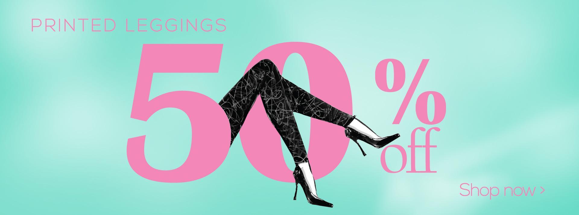 50% fashion leggings sale