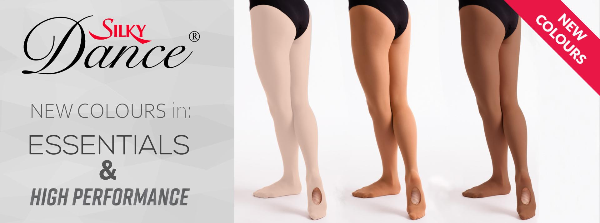 new ballet tights colours