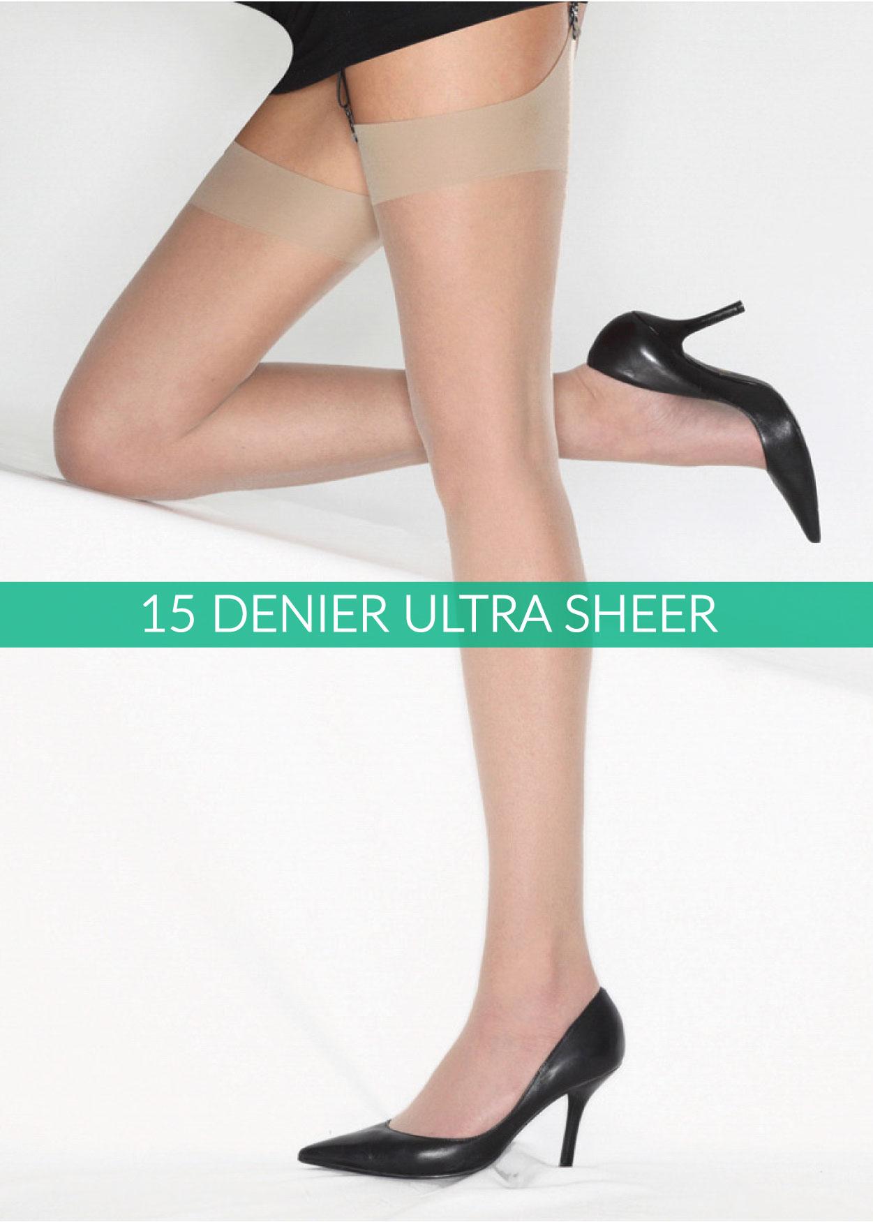 15 Denier Sheer