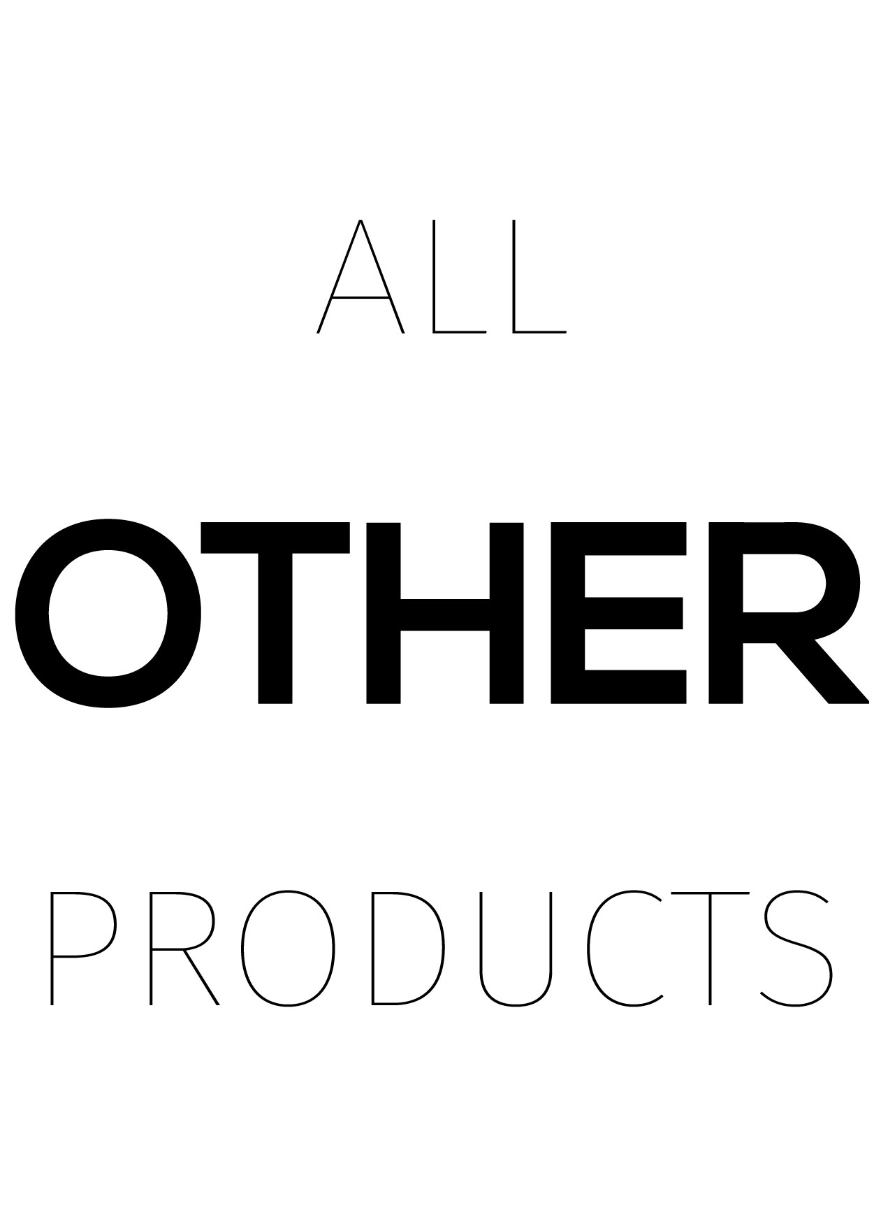 All Other Products