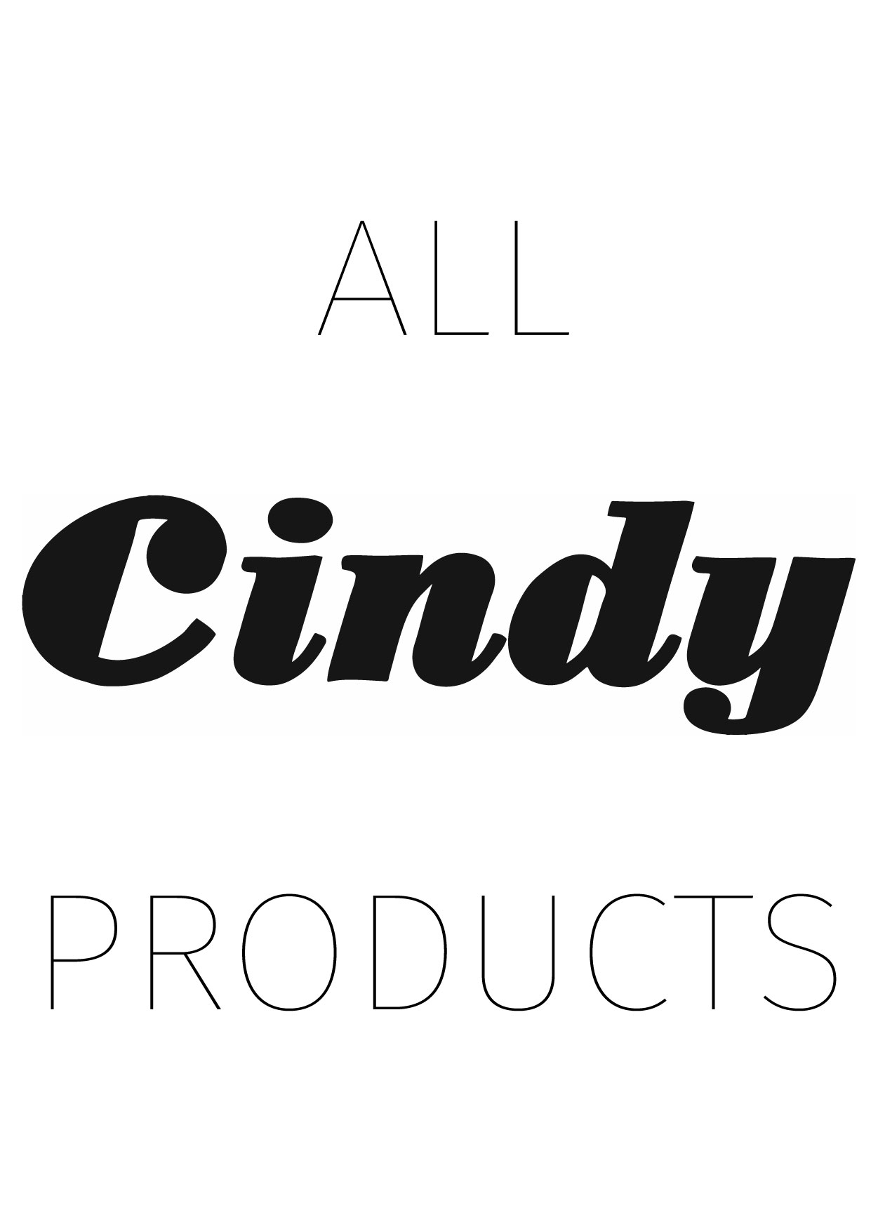 All Cindy Products