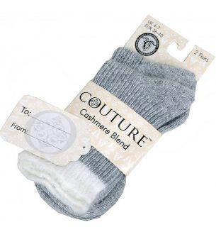 Cashmere Blend Socks (Fluff) 2pp