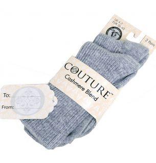 Cashmere Blend Socks (Plain) 2pp