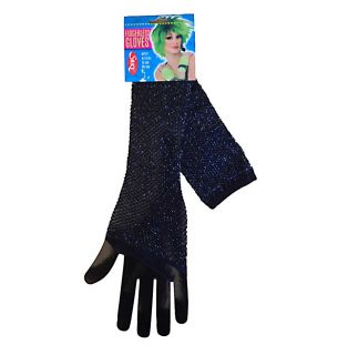 Lurex Long Fishnet Gloves