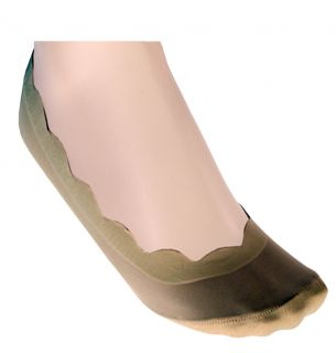 Scalloped Edge Footlets 2PP