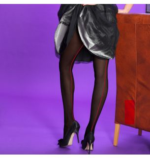 Opaque Seamer Tights