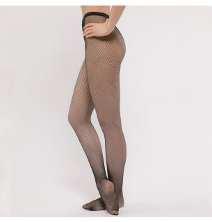 R100 Footed Fishnet Tights