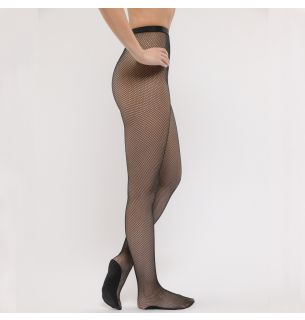R104 Professional Footed Fishnet Tights