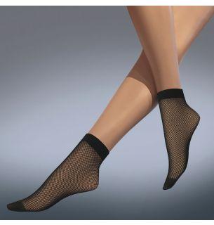 Fishnet Ankle Highs