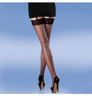 Smooth Knit Seamer Stockings