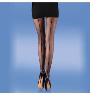 Smooth Knit Seamer Tights