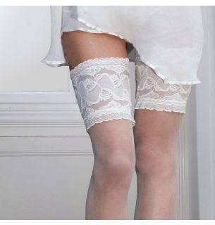 Soft and Sheer Lace Top Hold Ups